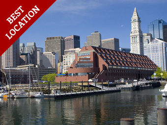 boston's best location - the long wharf marriott