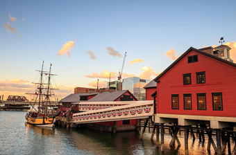 boston museums and attractions - boston tea party museum